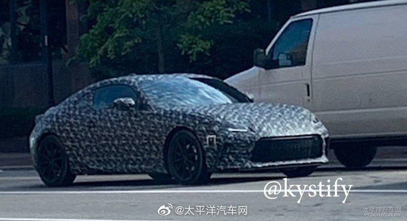 全新一代丰田86的谍照出炉啦,新车计划在2021年中旬发布