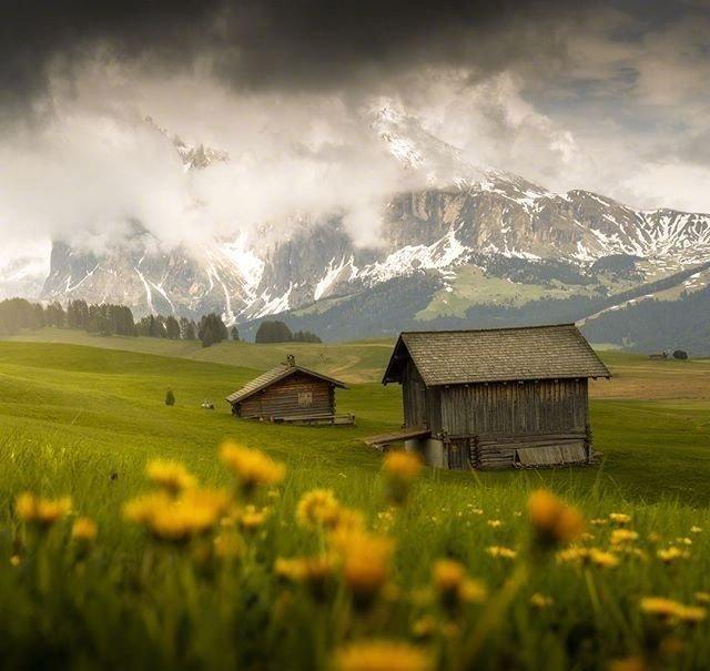 意大利多洛米蒂山脉,少有人知的阿尔卑斯人间仙境。
