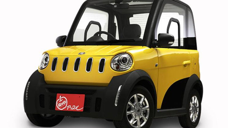 中国生产/售价约5.9万人民币 松下推出单座微型电动车e-Apple