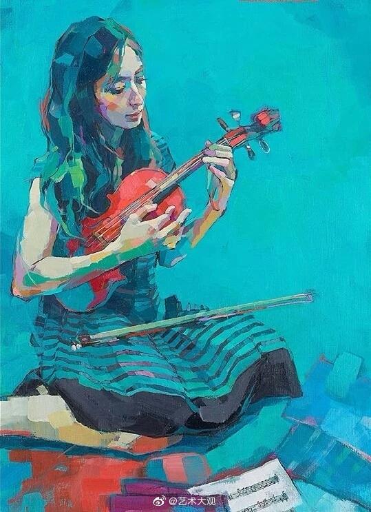 日本女画家古河原泉绘画作品专辑-4Izumi Kogahara1979年出生于日本