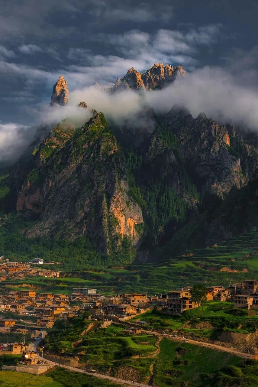 总有一泽圣地是心之所向,圣地甘南的扎尕那、郎木寺