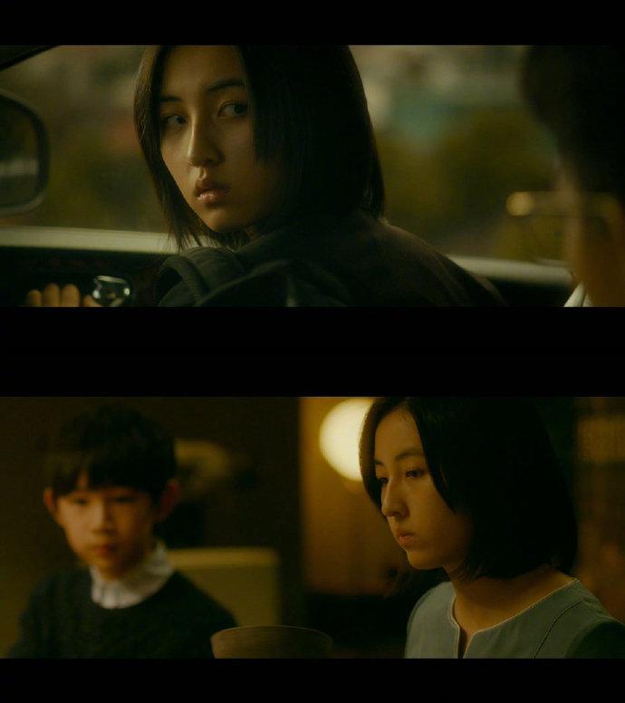 张子枫、荣梓杉在陈正道导演电影《秘密访客》中饰演一对姐弟