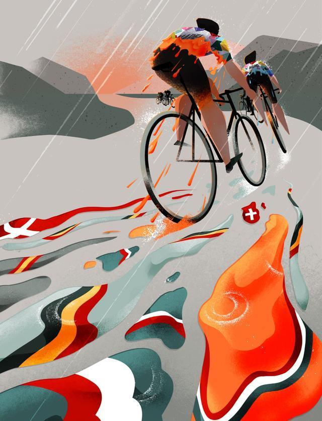 比利时插画家Eleni Debo的概念插图大部分是为国际出版市场委托制作的