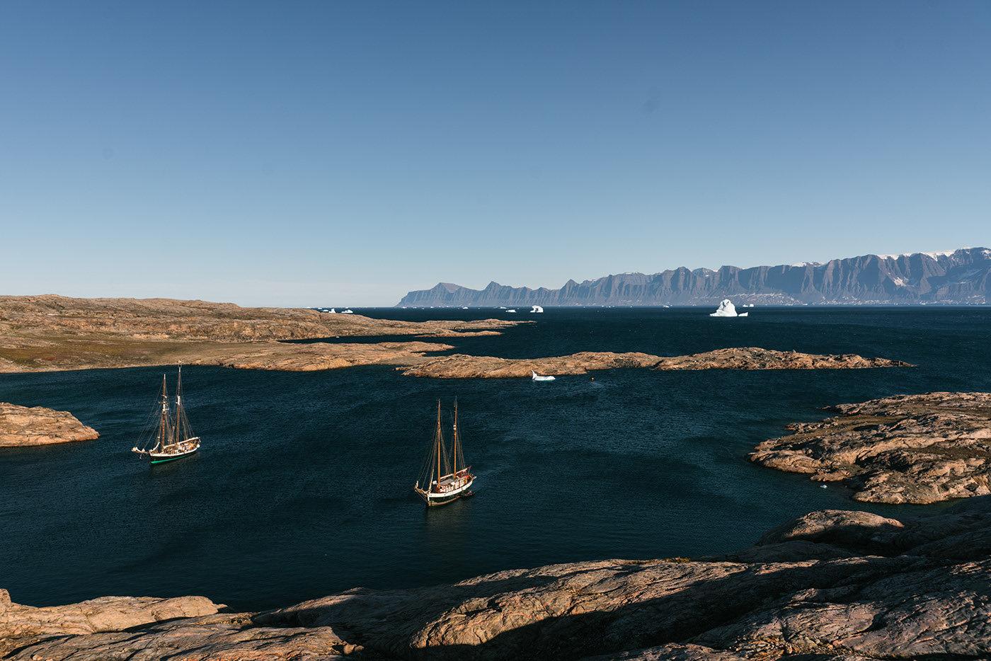 """世界最大的岛屿格陵兰在丹麦语中的意思是""""绿色的土地"""""""