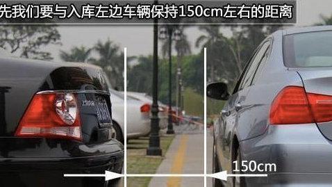 """非常实用的""""倒车入库技巧"""",特别适合新手和女司机停车!"""