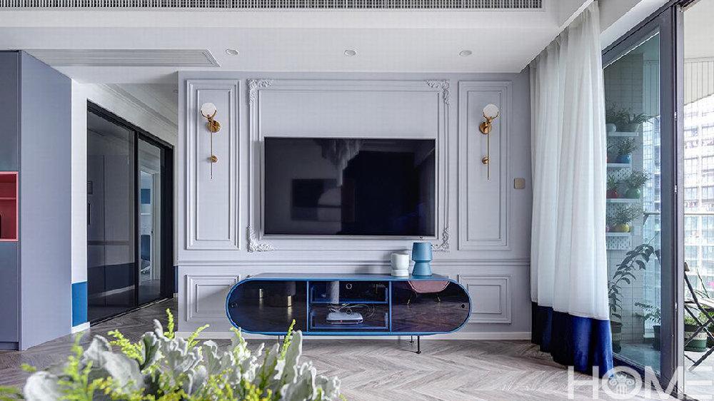 绵阳140平法式轻奢住宅装修~绵阳幻想家装饰公司设计
