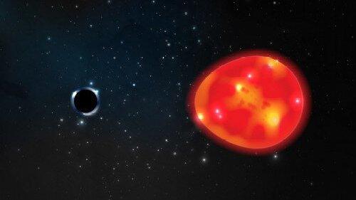 史上最迷你黑洞距离地球最近,质量约是太阳的3倍