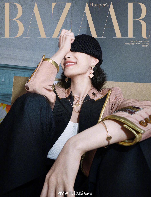 倪妮 ×《时尚芭莎》MiniBAZAAR 四月刊。不拘常规的GUCCI女郎