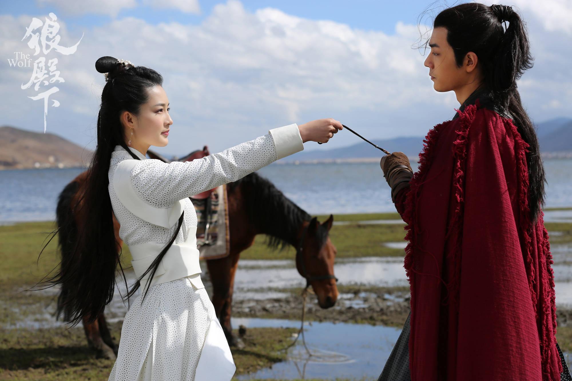 《狼殿下》这部剧由王大陆和李沁领衔主演
