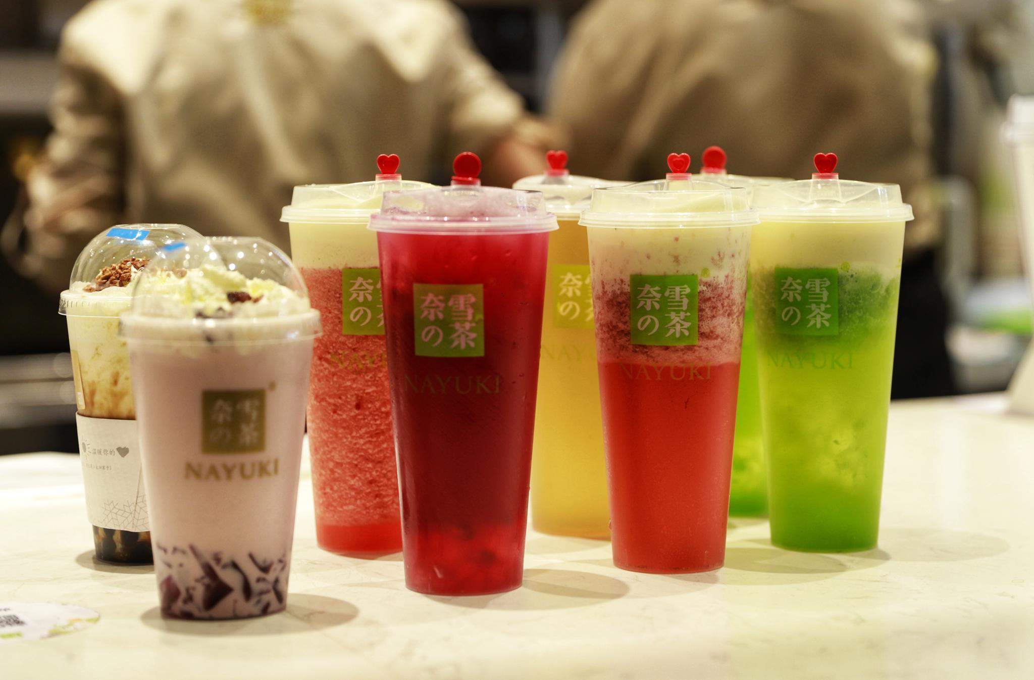 冬天的第一杯奶茶,奈雪邀你一起品鉴。首创爆款水果奶茶