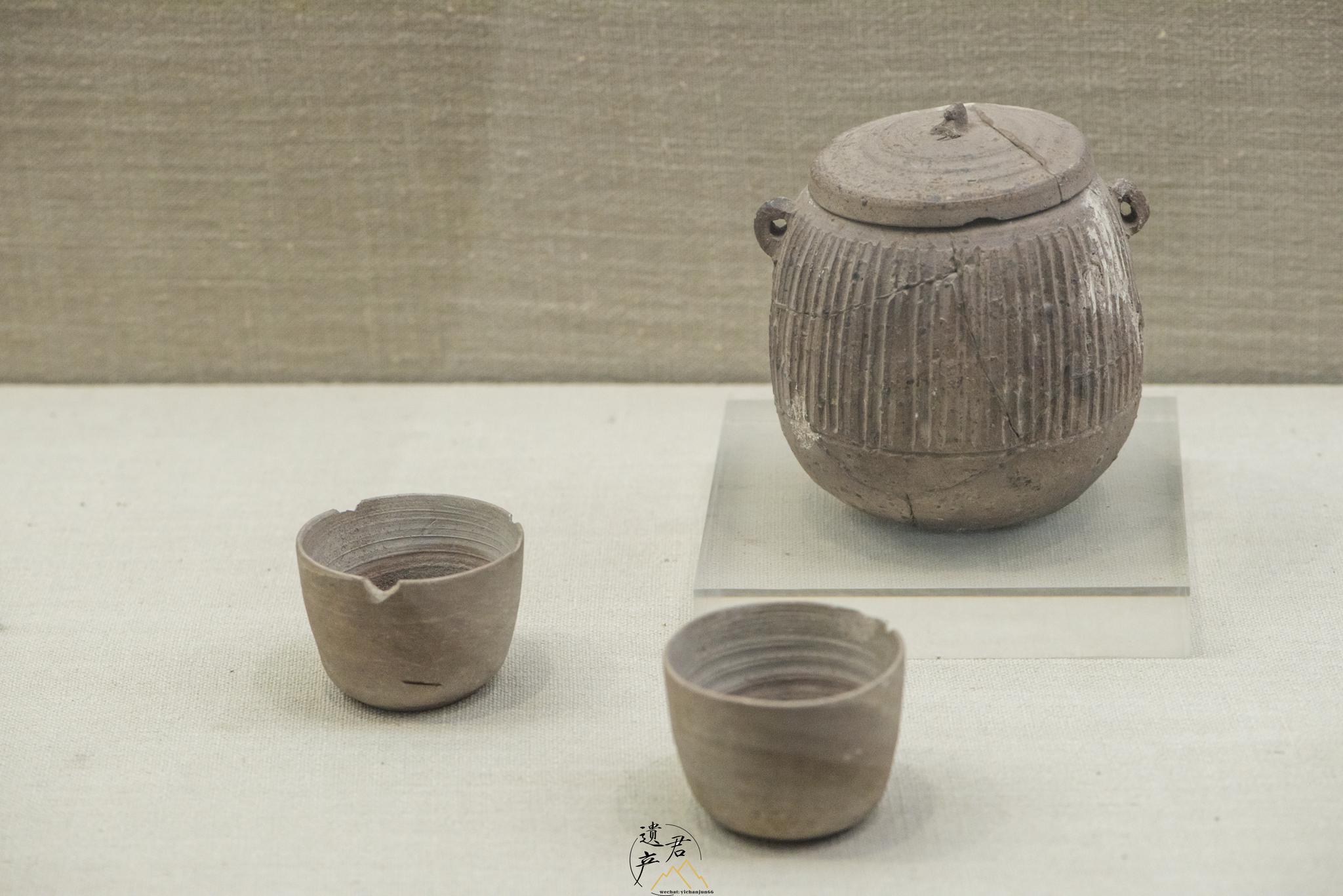 鄂州博物馆藏· 战国时期原始青瓷杯