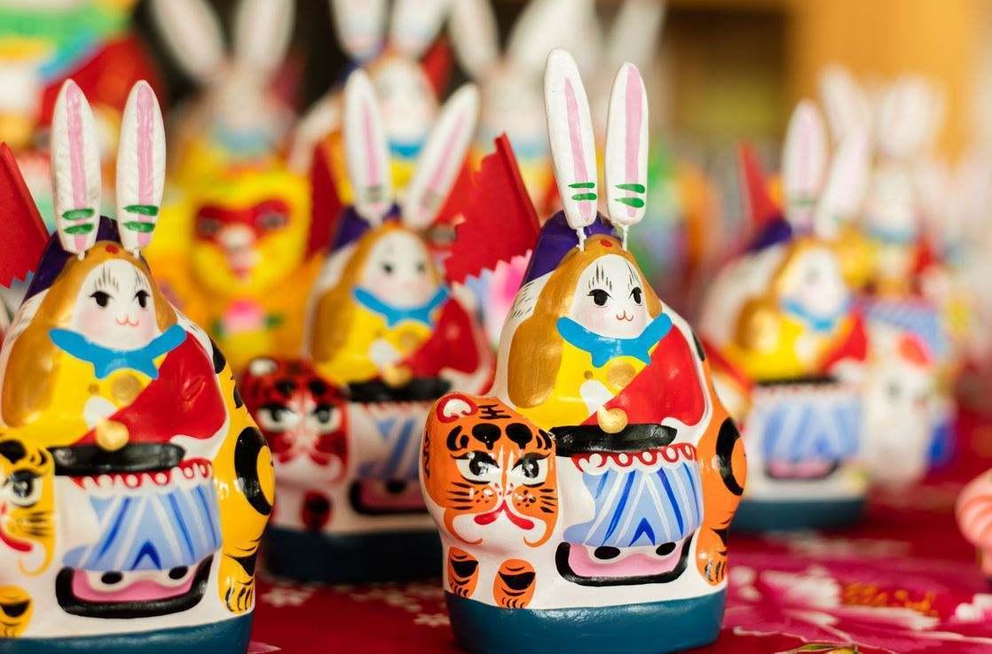 兔儿爷 · 旧时北京儿童的中秋玩具
