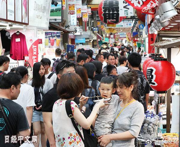 日本2019年对华发放654万张签证 创新高