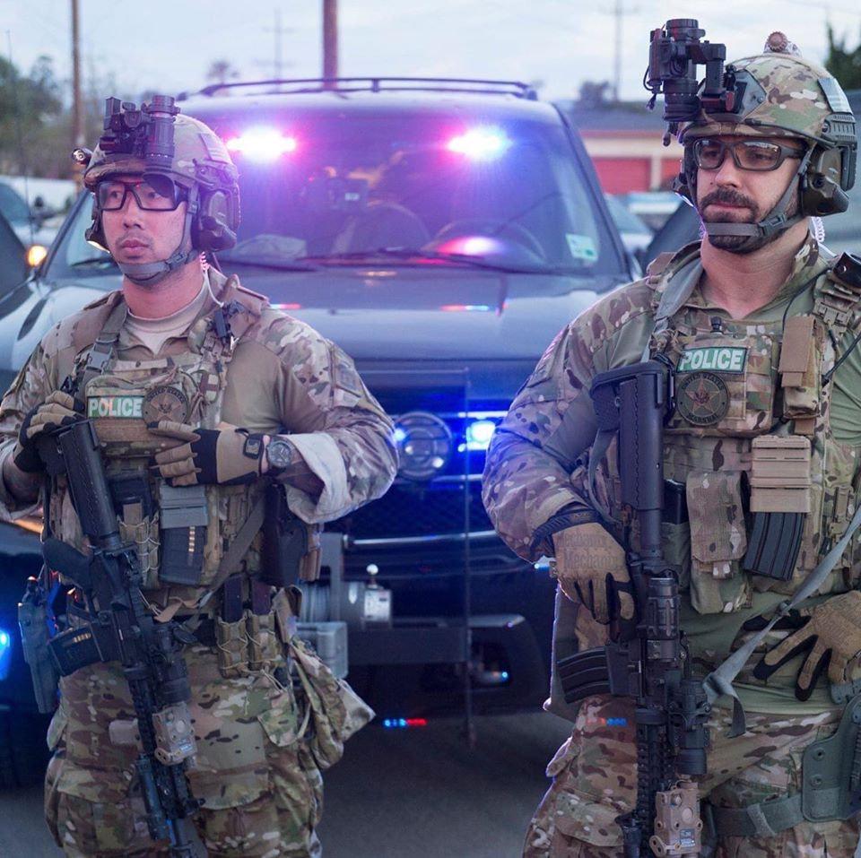 条子特战化US Marshals Service SOG