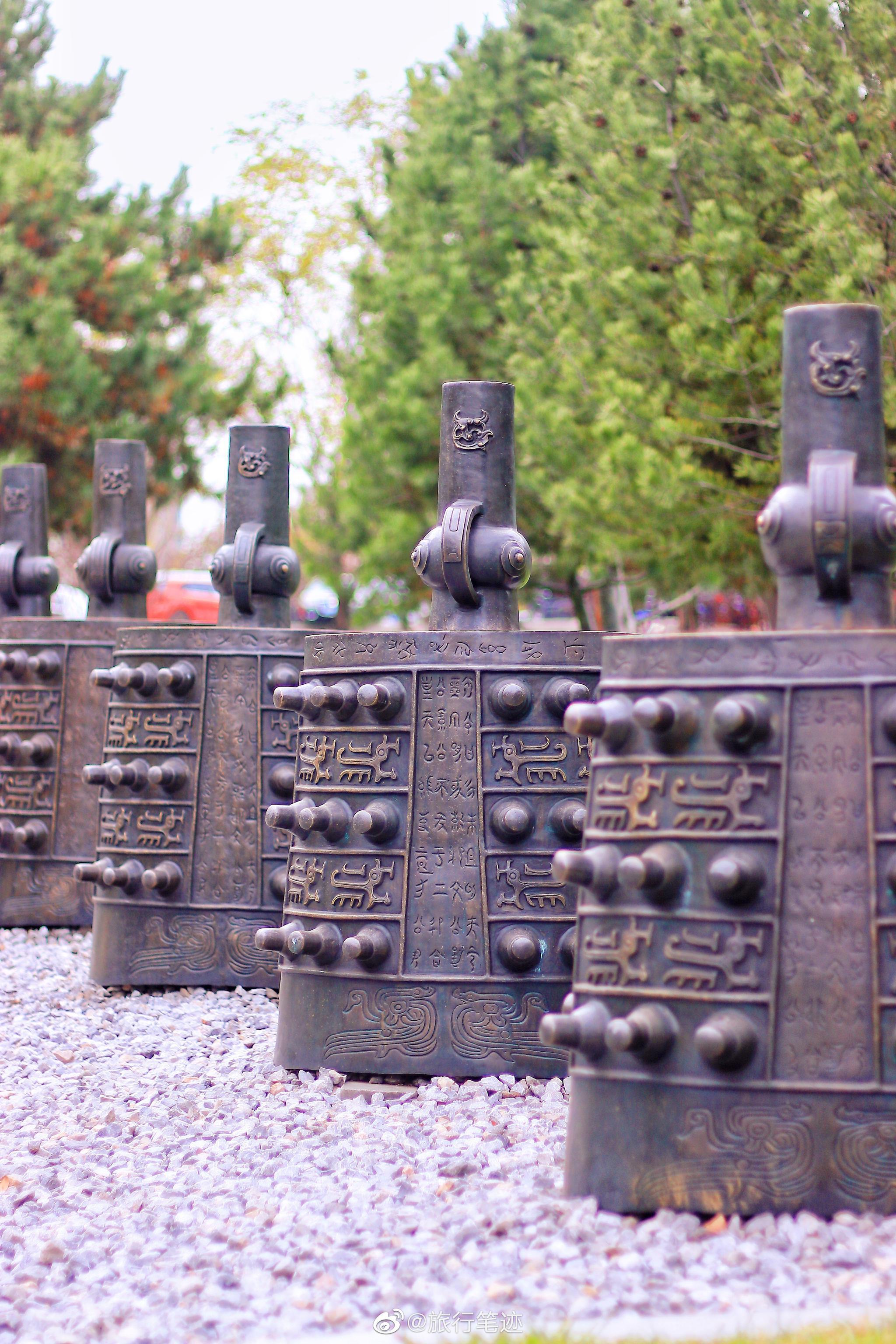 曲江唯一的秦风园林——秦二世陵遗址公园
