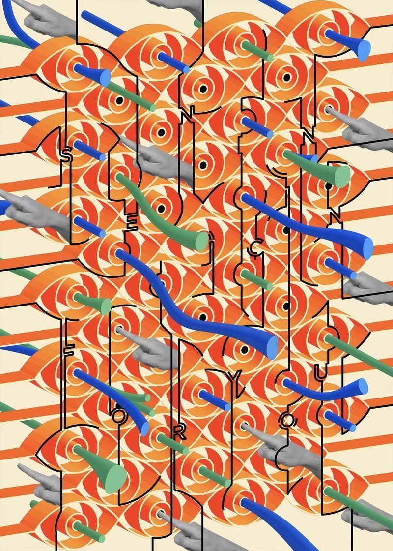 创意字体海报作品 :土耳其设计师 Ahmet Barin