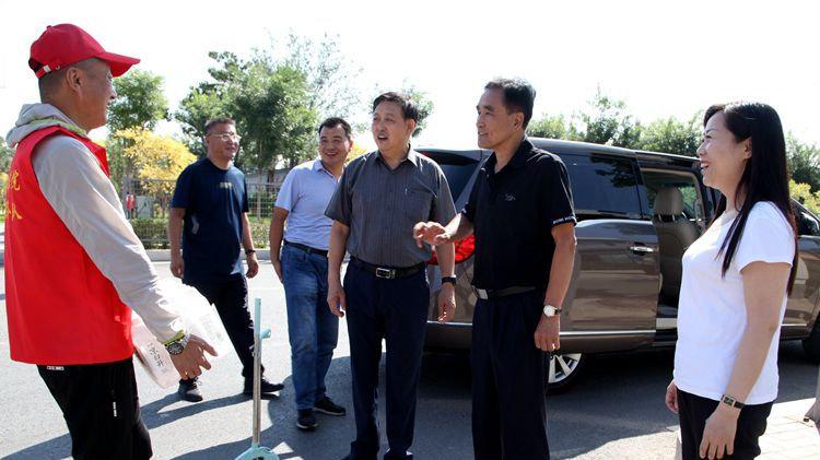 文明之忻|农工党忻州市委会开展助力文明创建送清凉活动