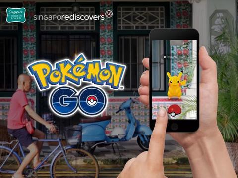 新加坡旅游局与Pokemon Go合作,推出超过300探索新地点