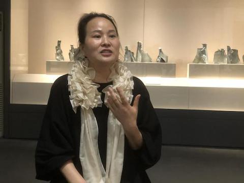 范安琪陶艺作品展在广东石湾陶瓷博物馆开幕
