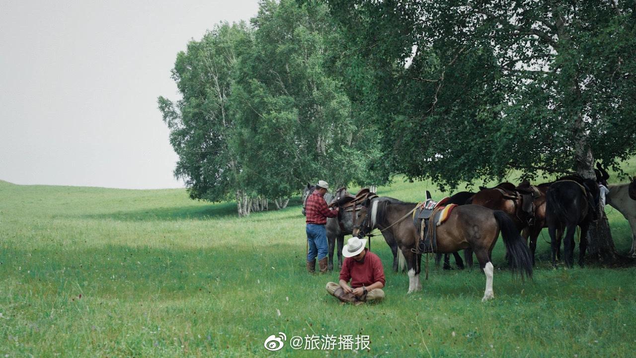 用最古老的骑马方式