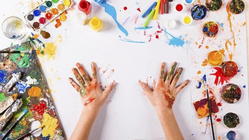 长卷绘出色!这才是陪孩子画画的正确打开方式,不来亏大了!