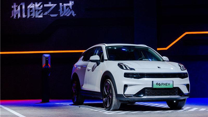 """11.86万元起售,领克06掀起都市SUV领域""""机能""""新浪潮"""