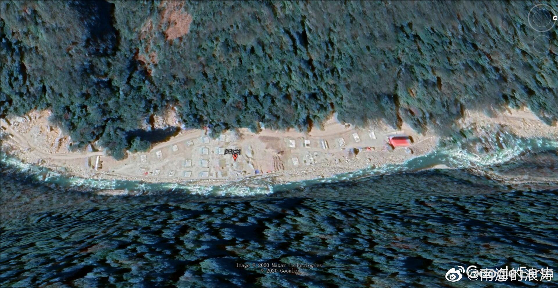 亚东县的洞朗地区有了第一个行政村,第一批常住居民