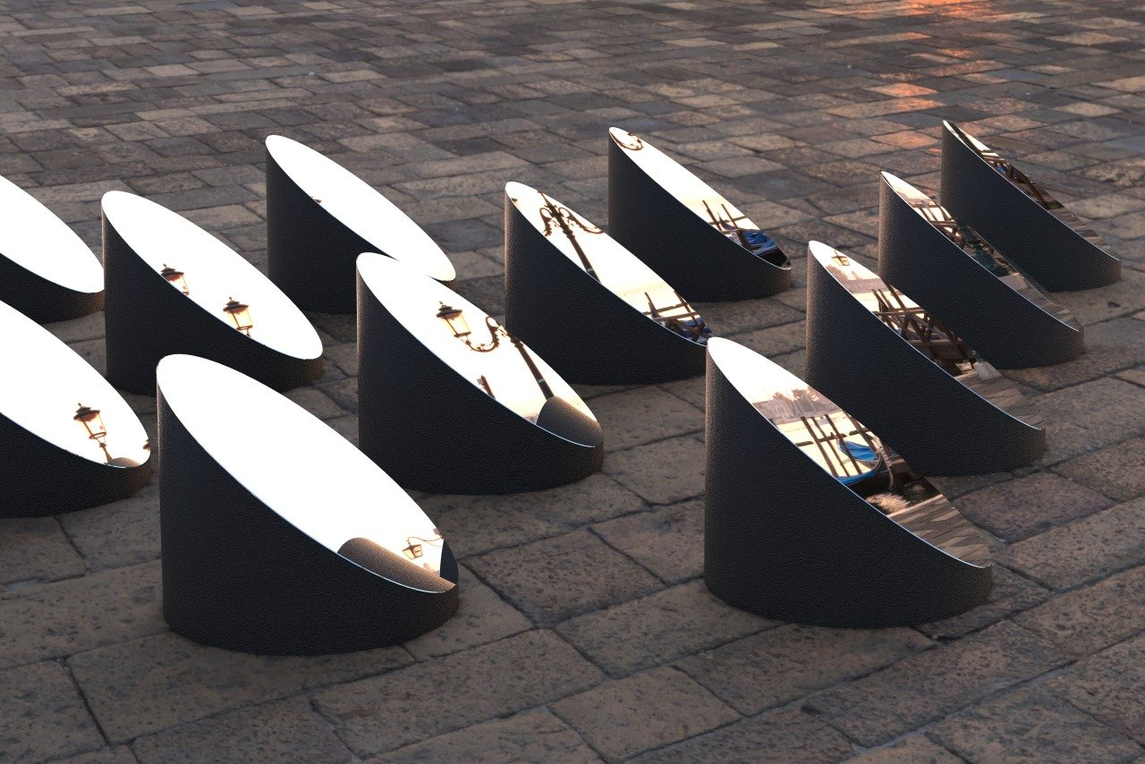 法国艺术家 Arnaud Lapierre 最近在意大利威尼斯发布了一组城市装置
