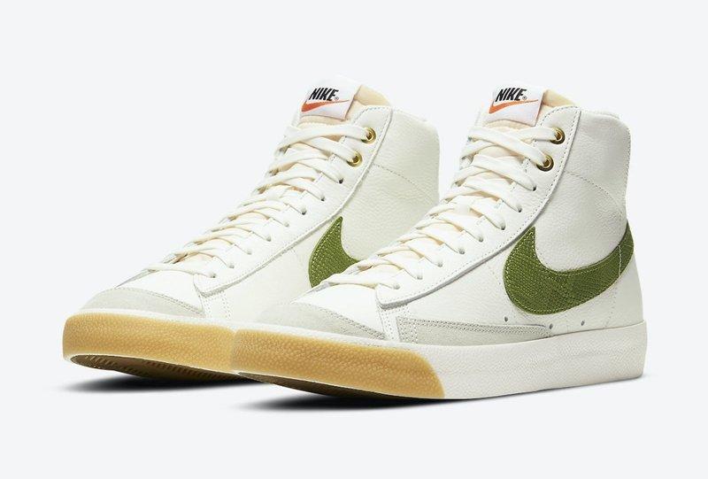 Nike Blazer Mid'77货号:DC1706-100发售价格: $100 美元