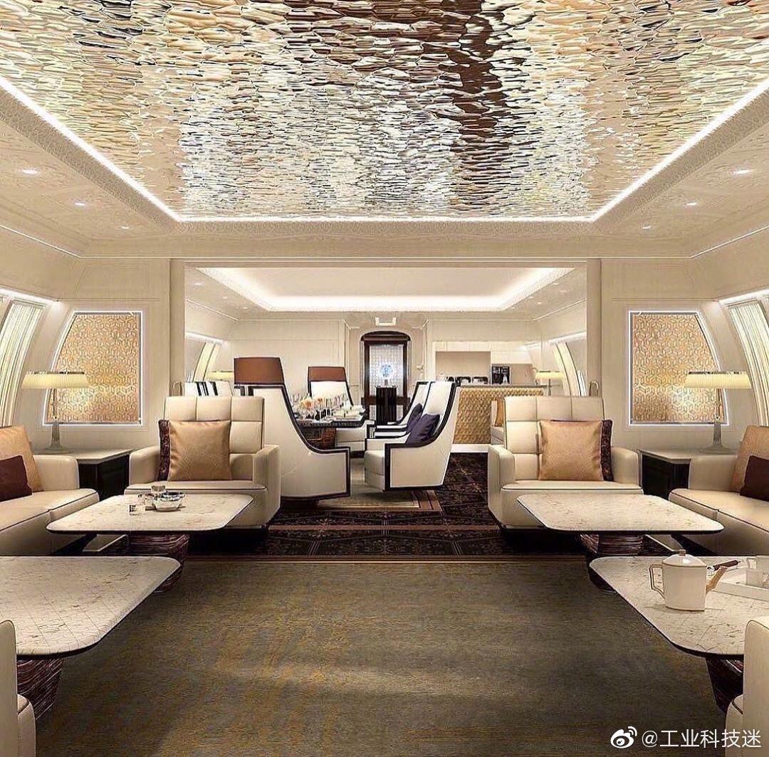 可以开发一下这样的豪宅!波音BBJ 777X 空中移动豪宅!爱了吗?