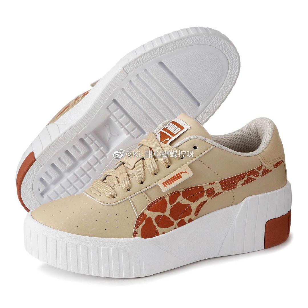 X 藤田ニコル联名啦长颈鹿图柄泰可爱了叭松糕鞋底拉长身高比例 快