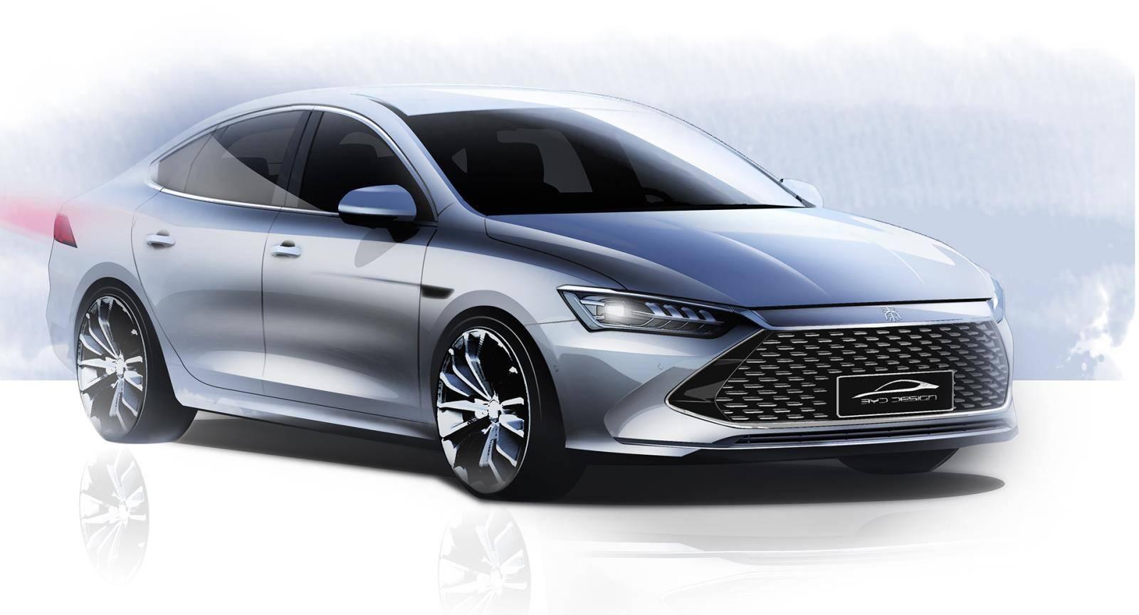 搭全新骁云发动机/热效率达43% 比亚迪秦PLUS于广州车展首发