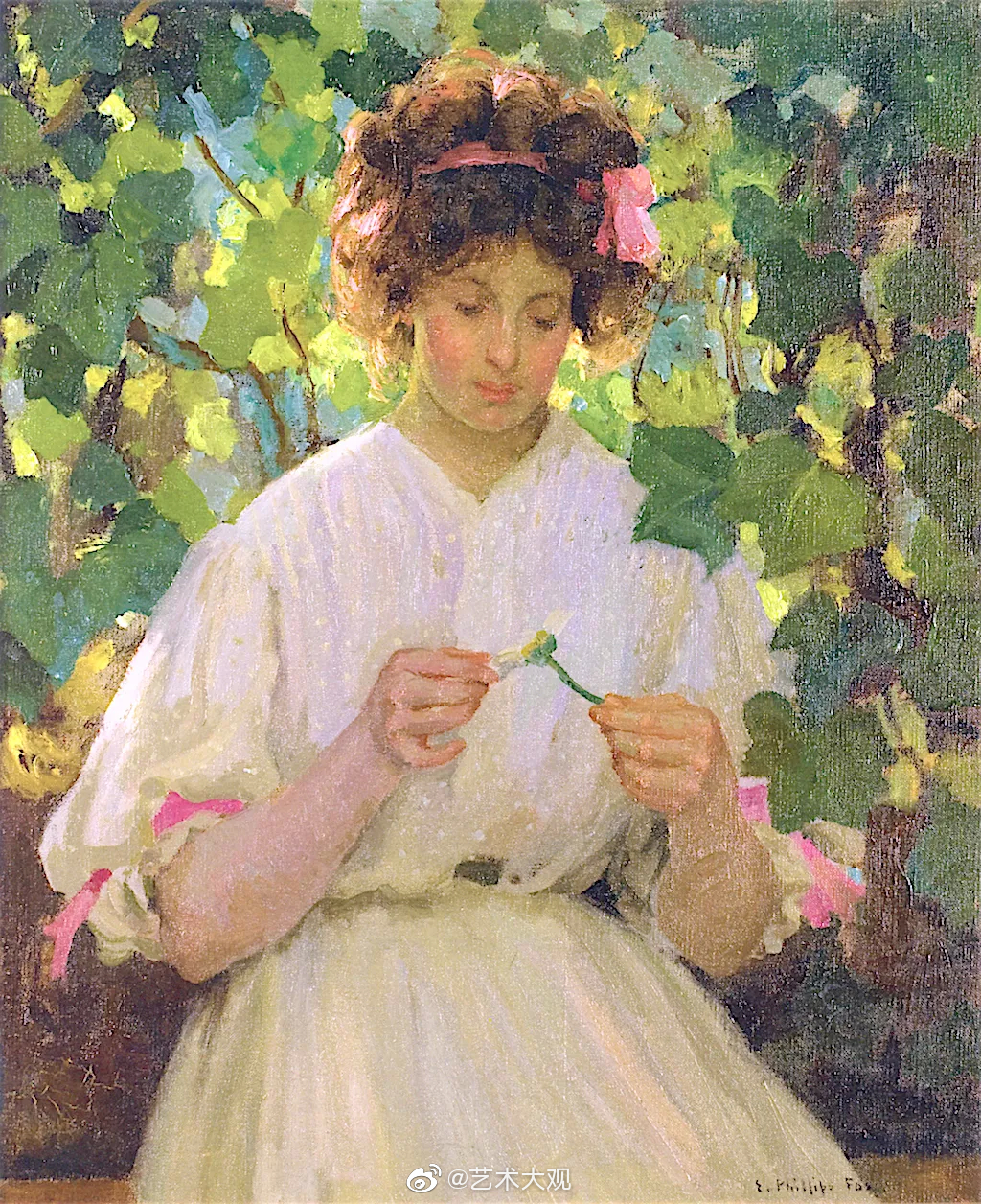 澳大利亚画家菲利普斯·福克斯女性油画作品欣赏