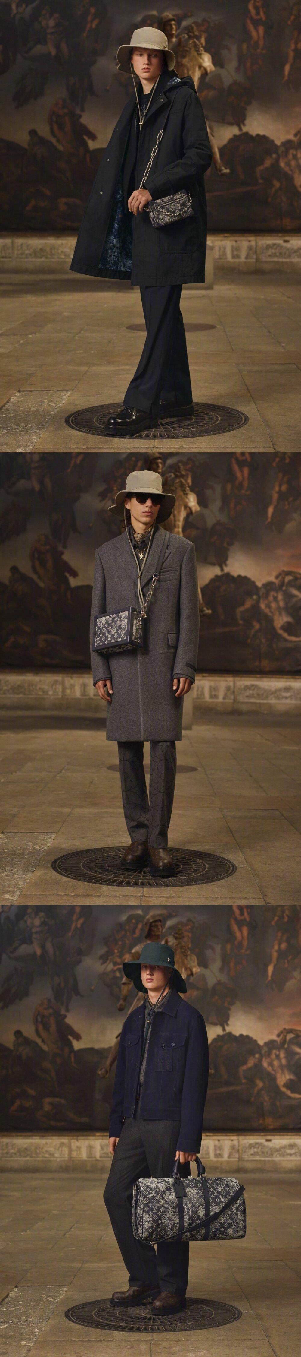 Louis Vuitton Menswear Resort 2021 早春男装系列|低调奢华的深色