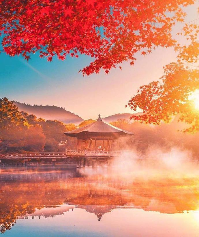 京都与奈良的秋天