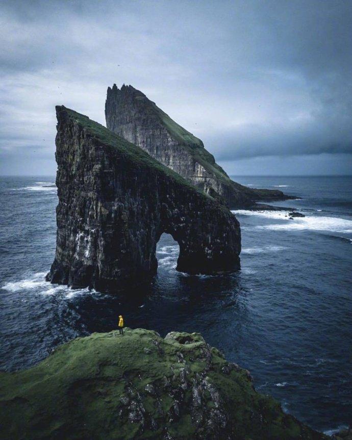 位于英国和冰岛中间的法罗群岛村,太梦幻太神秘了~