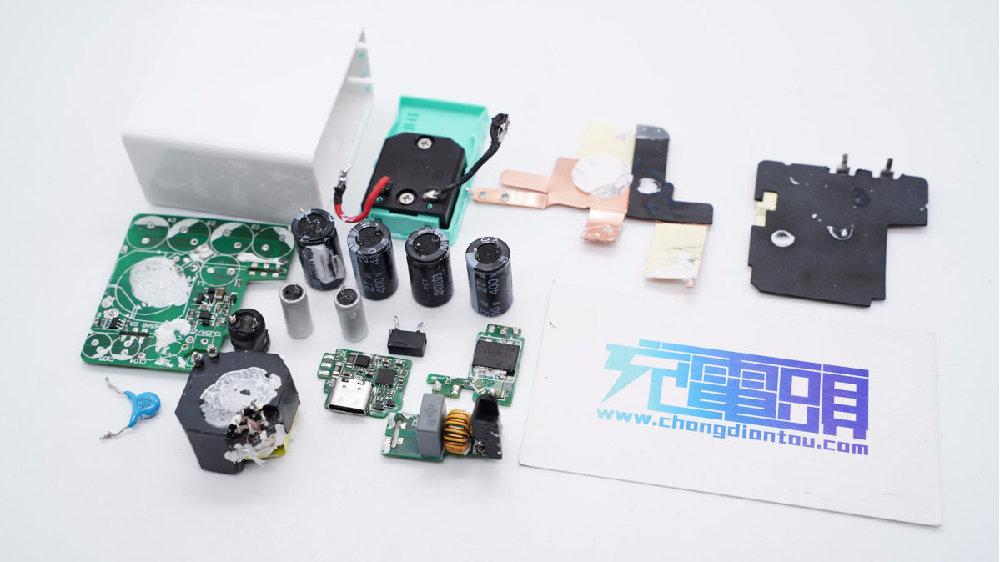 拆解报告:Smartisan坚果65W氮化镓快充充电器DP65C