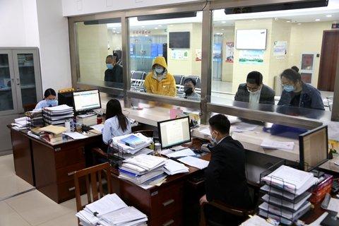 天津北辰法院诉服中心恢复开放首日运行秩序良好