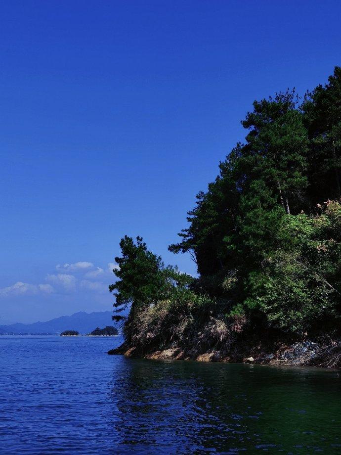 千岛湖的绝美林水