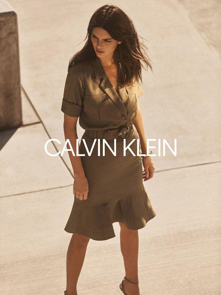 Kendall Jenner出镜Calvin Klein 2020秋冬系列女装广告大片Lachlan