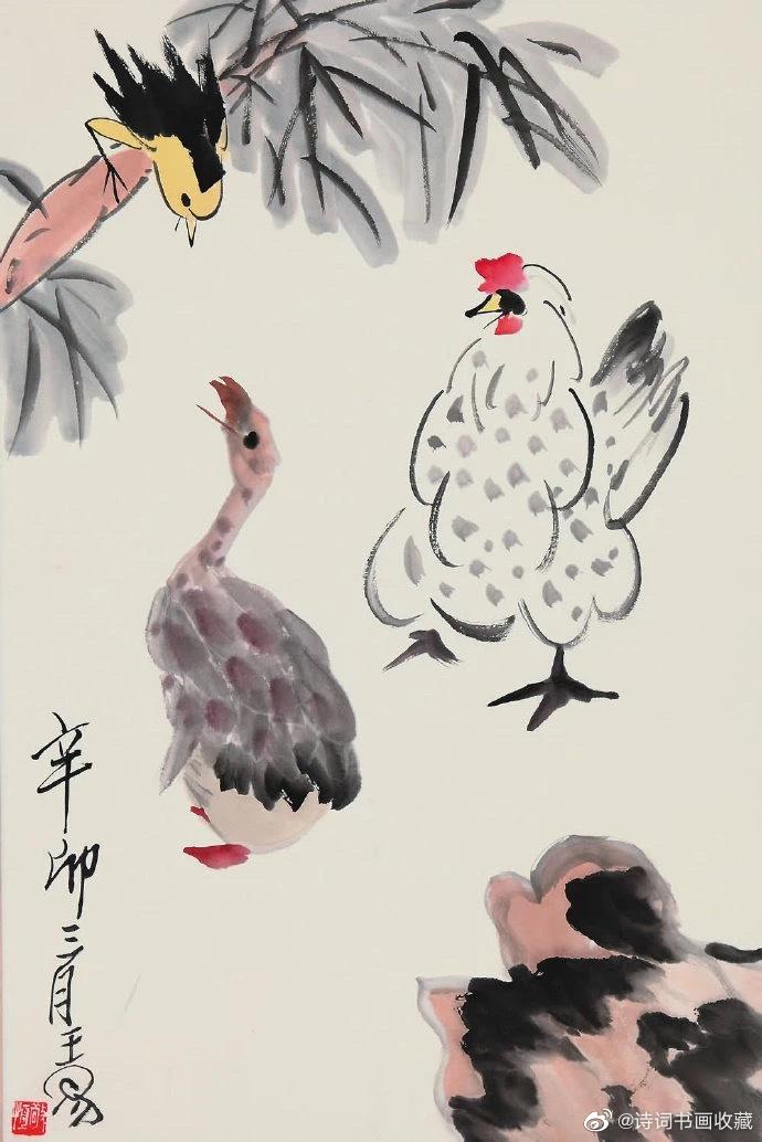 王敬恒写意国画作品欣赏