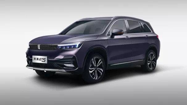 【新车】预售区间15-20万元  天美ET5正式预售亮相!