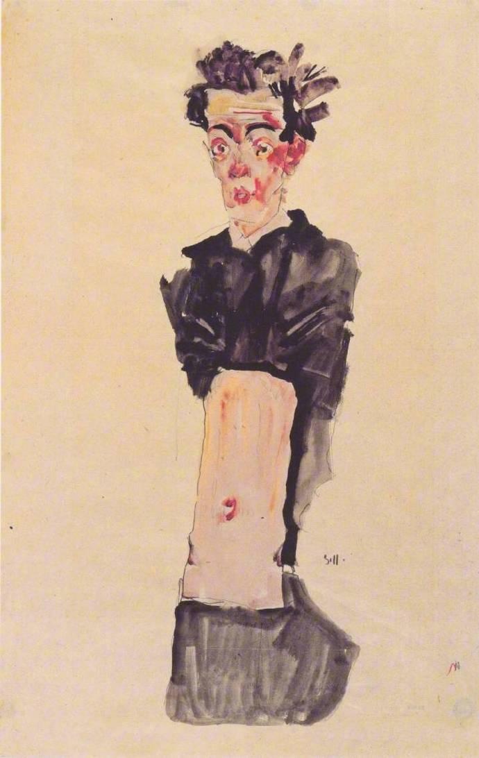 席勒的自画像