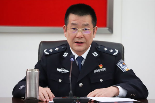 云南省公安厅经侦总队召开全体民警辅警大会