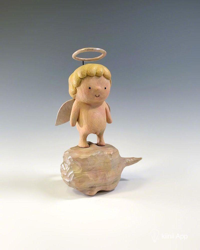 喜怒哀乐全在脸上的木雕们日本雕刻家田島享央己作品