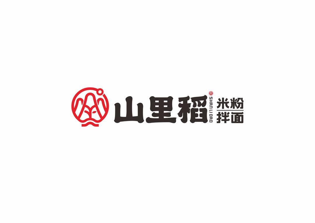 山里米粉拌面餐饮品牌LOGO设计和vi全案设计策划-fuyuebrand