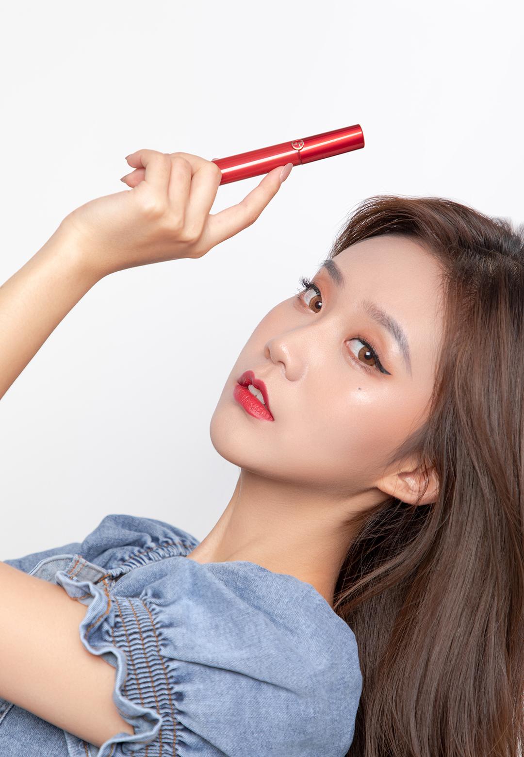 阿玛尼红管唇釉是唯一一个我想拥有全套的口红