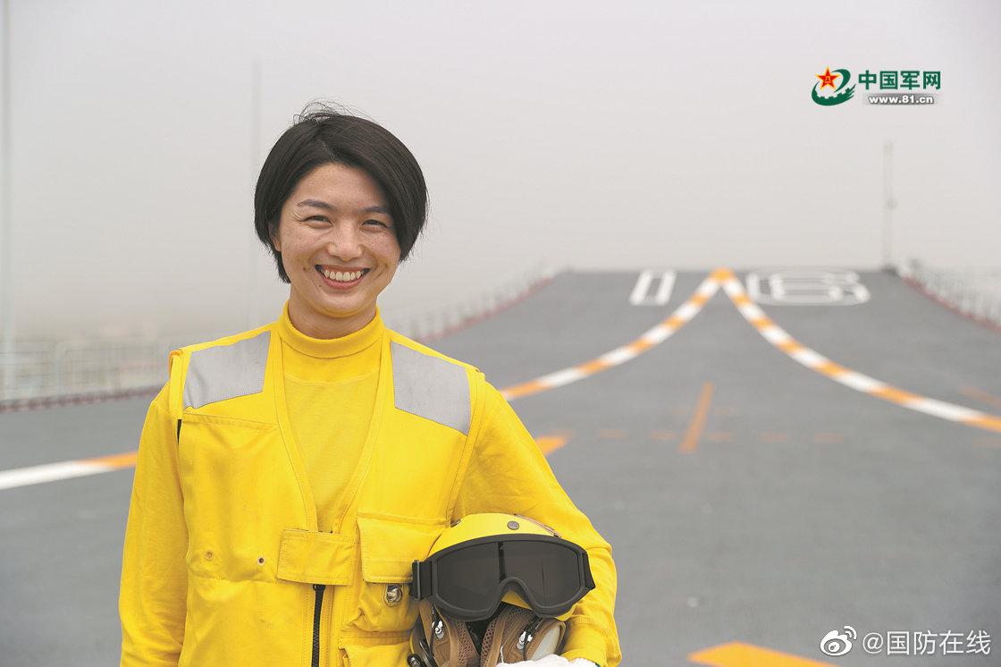 """辽宁舰女士官长张明珠:""""世界上最危险的4"""