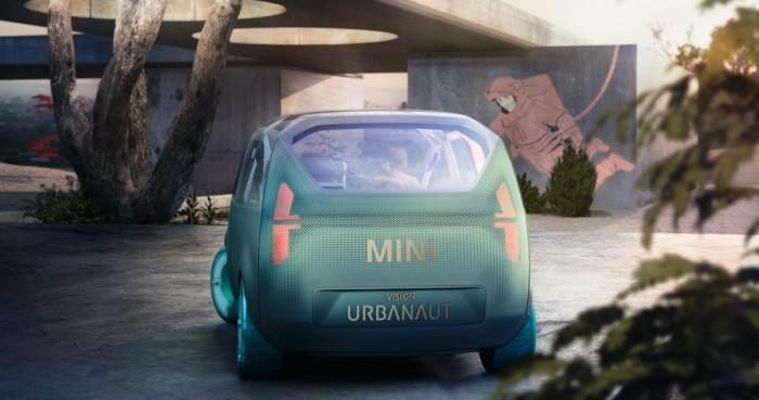 侧滑门设计,或定位MPV!MINI电动概念新车曝光