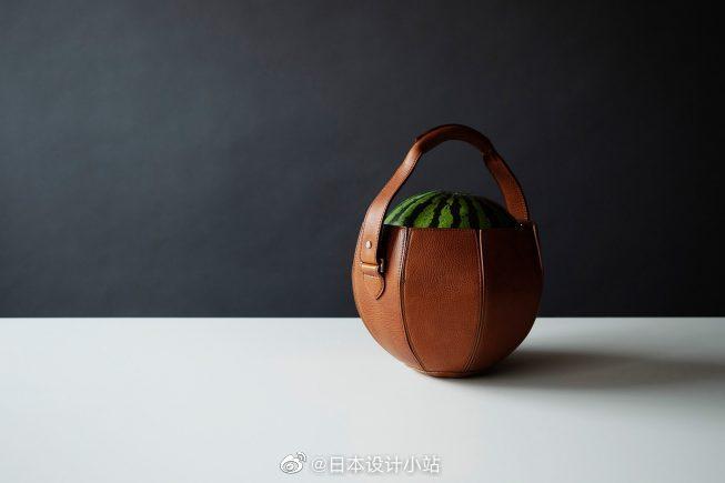 日本手工皮革Tsuchiya Kaban设计了一款创意手提包